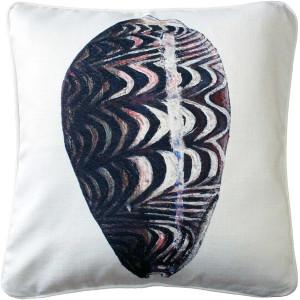 Ponte Vedra Day Break Cowrie Throw Pillow 20x20