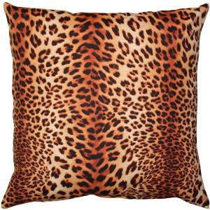 Kitsui Leopard Throw Pillow 20x20