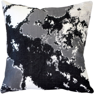 Lava Steps Throw Pillow 19x19