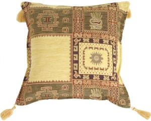 Block Prints Decorative Throw Pillow
