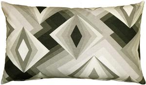 Asscher Cut Throw Pillow 12x20