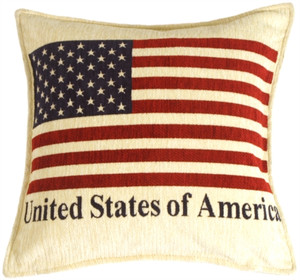 Patriotic Decorative Throw Pillow