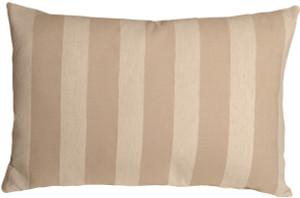 Brackendale Stripes Cream Rectangular Throw Pillow