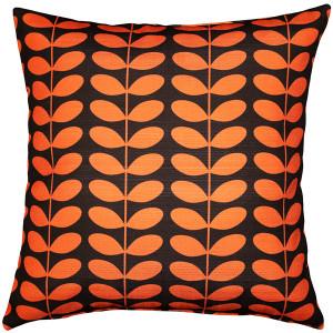 Mid-Centruy Modern Orange Throw Pillow 20x20