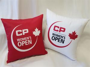 CP Women's Open Event Pillow
