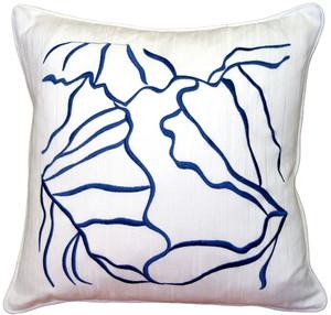 Summer Breeze Blue 20x20 Throw Pillow