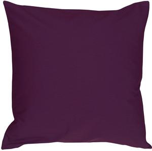 Caravan Cotton Purple 18x18 Throw Pillow