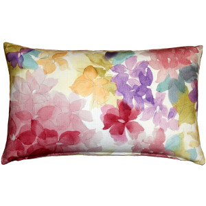 May Flower Throw Pillow 12X20