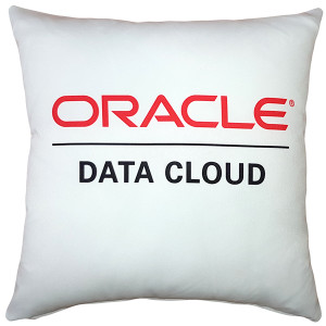 ORACLE DATA CLOUD Event Pillow