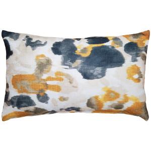 Brandy Bay Yellow Floral Throw Pillow 12x19