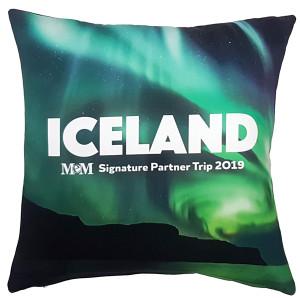 MEM SIGNATURE PARTNER TRIP Event Pillow