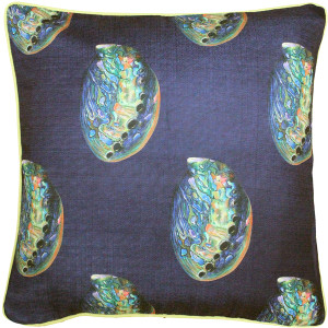 Shoal Cape Abalone Large Scale Print Throw Pillow 20x20