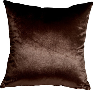 Milano 16x16 Brown Decorative Pillow