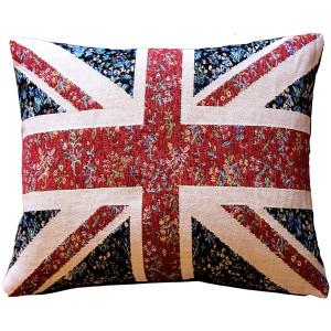 United Kingdom Flag Tapestry Throw Pillow 15x19