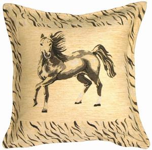 Stallion Decorative Throw Pillow