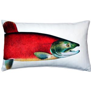 Salmon Fish Pillow 12x19