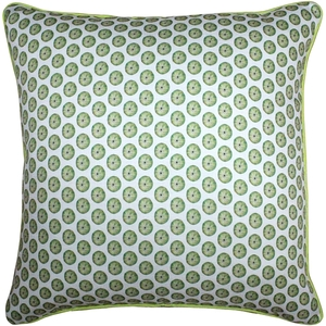 Big Island Sea Urchin Tiny Scale Print Throw Pillow 26x26