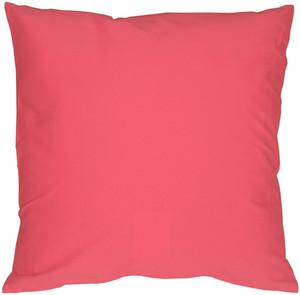 Caravan Cotton Pink 16x16 Throw Pillow
