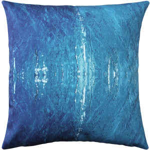 Waterwall Throw Pillow 20x20