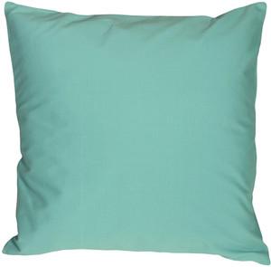Caravan Cotton Turquoise 20x20 Throw Pillow