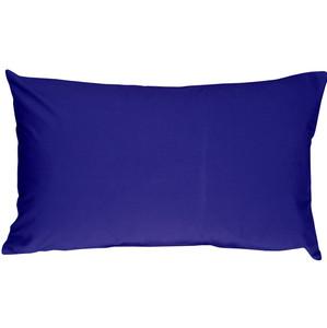 Caravan Cotton Royal Blue 12x20 Throw Pillow