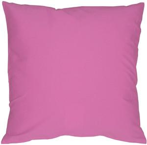 Caravan Cotton Orchid Pink 16x16 Throw Pillow