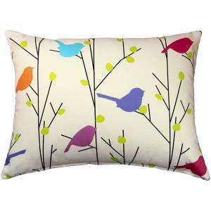 Spring Birds 15x20 Decorative Pillow