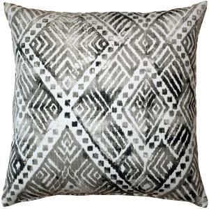 Tangga Gray Throw Pillow 20X20