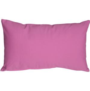 Caravan Cotton Orchid Pink 12x20 Throw Pillow