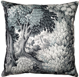 Somerset Woods by Night Throw Pillow 24x24
