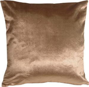 Milano 16x16 Light Brown Decorative Pillow