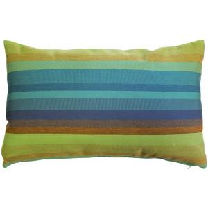 Sunbrella Astoria Lagoon 12x19 Outdoor Pillow