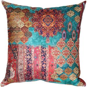 Caspian Shore Throw Pillow 19x19