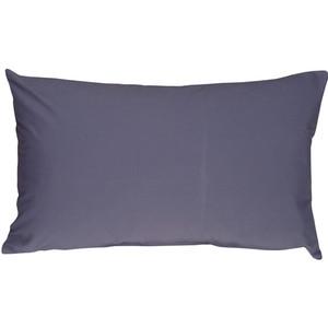 Caravan Cotton Denim Blue 12x20 Throw Pillow