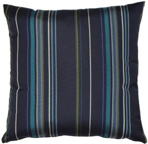Sunbrella Stanton Lagoon 20x20 Outdoor Pillow