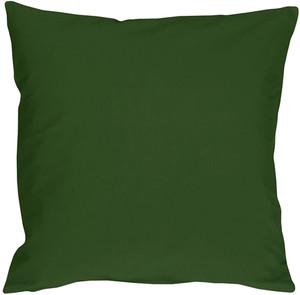 Caravan Cotton Forest Green 16x16 Throw Pillow