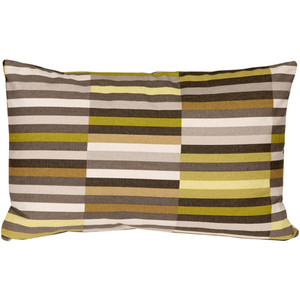 Waverly Side Step Avocado 12x20 Throw Pillow