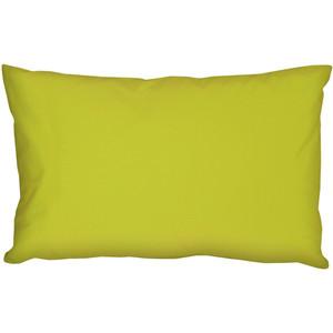 Caravan Cotton Lime Green 12x20 Throw Pillow