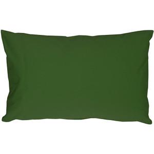 Caravan Cotton Forest Green 12x20 Throw Pillow