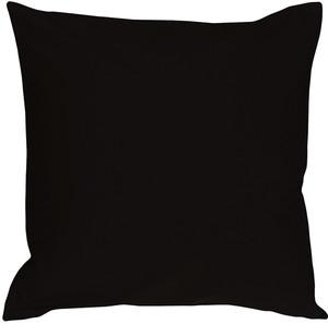 Caravan Cotton Black 20x20 Throw Pillow