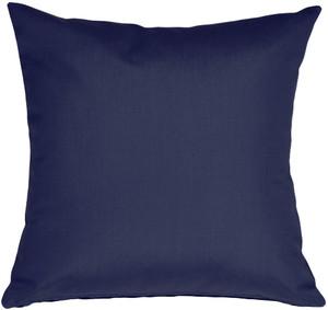 Sunbrella Navy Blue 20x20 Outdoor Pillow