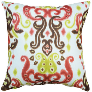 Bora Bora Tropical Throw Pillow 20x20