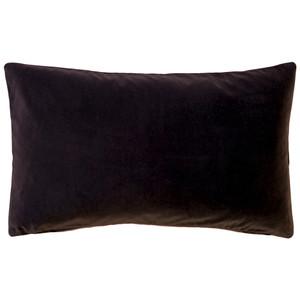 Castello Espresso Brown 12x20 Inch Rectangular Velvet Throw Pillow
