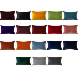 Castello Velvet Rectangular Throw Pillows