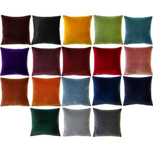 Castello Velvet 17 Inch Square Pillows