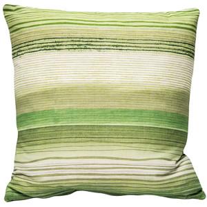Sedona Stripes Green 20 Inch Square Throw Pillow - Pillow Decor