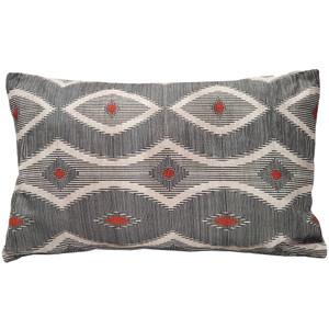 Desmond Red Diamond 12x20 Inch Rectangular Pillow - Pillow Decor