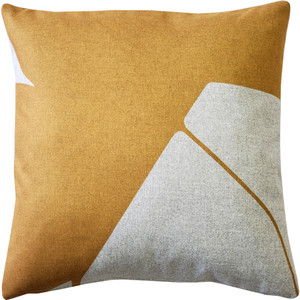 Boketto Renaissance Gold 19 Inch Square Throw Pillow from Pillow Decor