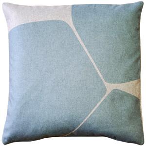 Aurora Paradiso Blue Throw Pillow 19x19 from Pillow Decor