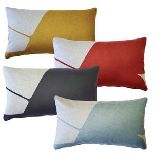 Boketto Throw Pillow 12x19 Inch Rectangular from Pillow Decor